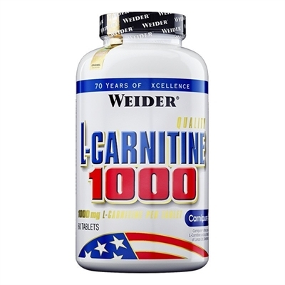 Weider L-Carnitine 1000 Mg 60 Tablet