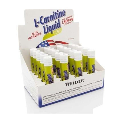 Weider L-Carnitine Liquid 1800 Mg 20 Ampül