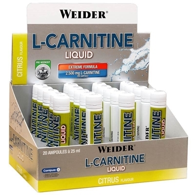Weider L-Carnitine Liquid 2500 Mg 20 Ampül