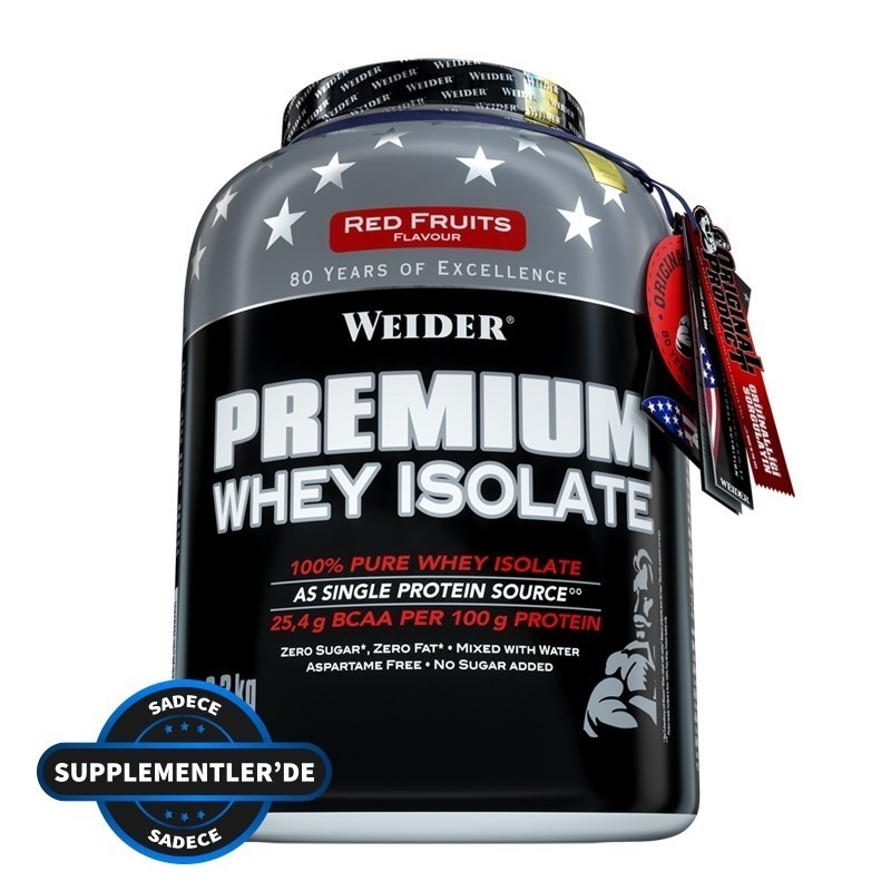 Weider Premium Whey Isolate 2300 Gr