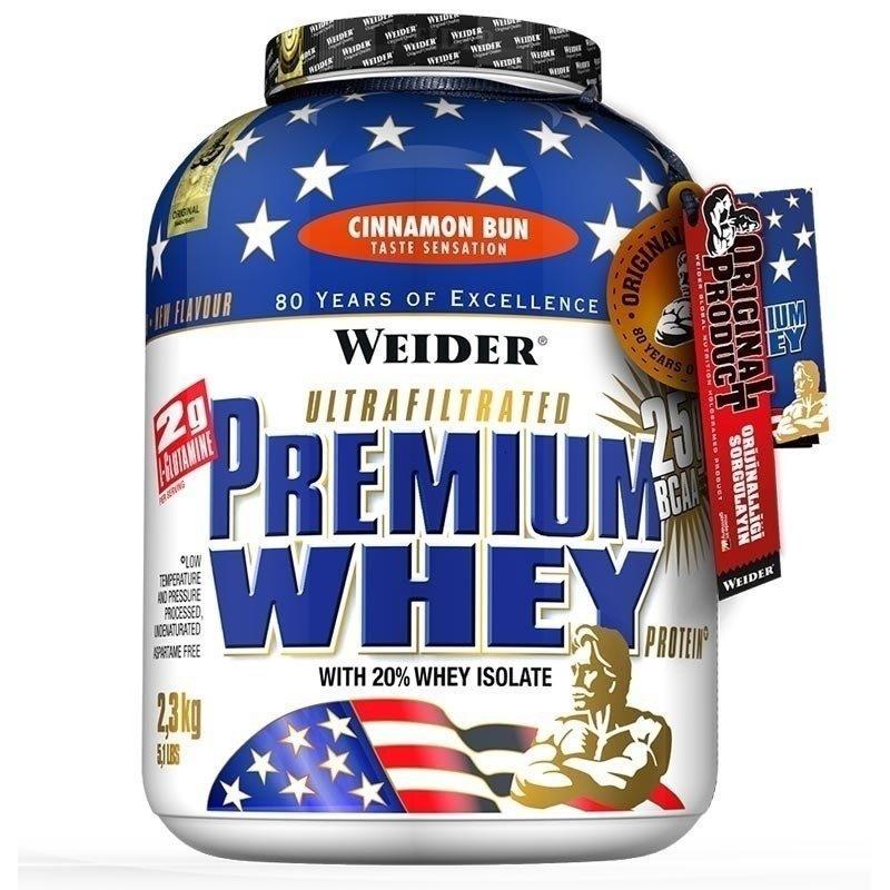 Weider Premium Whey Protein Tozu 2300 Gr Stracciatella veya Tarçın Aromalı