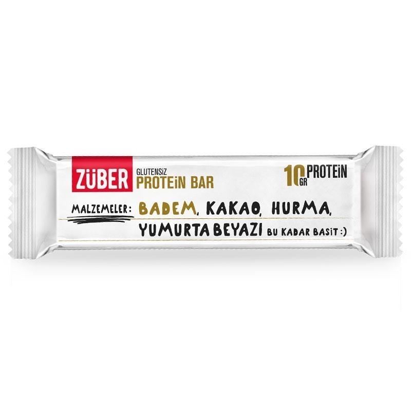Züber Glutensiz Protein Bar 35 Gr 1 Adet