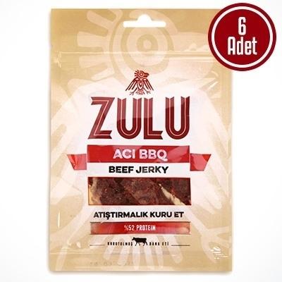 Zulu Beef Jerky Acı BBQ 6 Adet