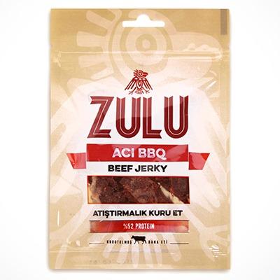 Zulu Beef Jerky Acı BBQ 1 Adet
