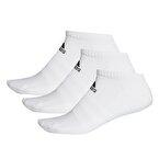 Adidas Cush Low 3'lü Çorap Beyaz