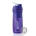 Blender Bottle Sportmixer Mor Beyaz 760 ml