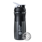 Blender Bottle Sportmixer Siyah Beyaz 760 ml
