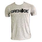Grenade Kısa Kollu T-Shirt Siyah - Gri