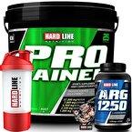 Hardline Progainer 5000 Gr + Arg 1250 + Shaker