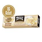 Muscle Cheff Proteinli Beyaz Çikolata 35 Gr 16 Adet