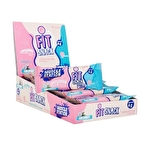 Muscle Station Fit Snack Protein Bar Coconut 40 Gr 24 Adet