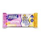 Muscle Station Fit Snack Vegan Protein Bar Caramel 40 Gr 1 Adet