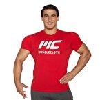 MuscleCloth Basic T-Shirt Kırmızı