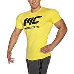 MuscleCloth Basic T-Shirt Sarı