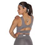 MuscleCloth Dora Sporcu Sütyeni Gri