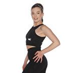 MuscleCloth Dora Sporcu Sütyeni Siyah