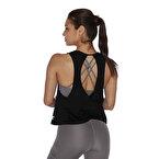 MuscleCloth Elise Çapraz Sırtlı Atlet Siyah