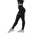 MuscleCloth Elise Cepli Spor Tayt Siyah