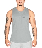 MuscleCloth Elite Kolsuz T-Shirt Gri