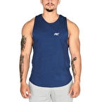 MuscleCloth Elite Kolsuz T-Shirt İndigo Mavi