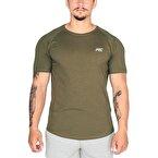 MuscleCloth Elite Reglan T-Shirt Haki