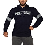 MuscleCloth Kapüşonlu Sweatshirt Lacivert