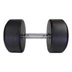 MuscleCloth Kauçuk Kaplı Profesyonel Dambıl 27,5 Kilo
