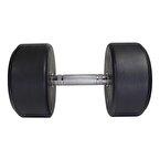 MuscleCloth Kauçuk Kaplı Profesyonel Dambıl 30 Kilo