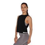 MuscleCloth Performance Kolsuz T-Shirt Siyah