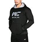 MuscleCloth Pro Kapüşonlu Sweatshirt Siyah