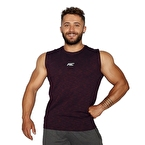 MuscleCloth Pro Kolsuz T-Shirt Bordo