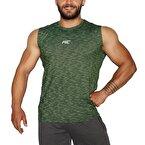 MuscleCloth Pro Kolsuz T-Shirt Yeşil