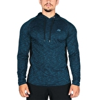 MuscleCloth Pro Pike Kapüşonlu Sweatshirt Mavi