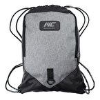 MuscleCloth Sackpack Spor Çanta Siyah/Gri