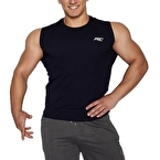 MuscleCloth Training Kolsuz T-Shirt Lacivert