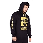 Mutant I Am Mutant Sweatshirt Siyah