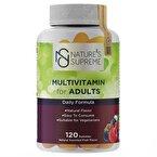 Nature's Supreme Gummies Multivitamin for Adults 120 Çiğnenebilir Form