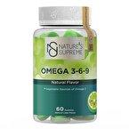 Nature's Supreme Gummies Vegan Omega 3-6-9 60 Çiğnenebilir Form
