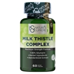 Nature's Supreme Milk Thistle Complex 60 Kapsül