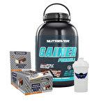 Nutrever Gainer 3000 Gr + Protein Pack 60 Gr 24 Adet Kombinasyonu
