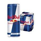 Red Bull Enerji İçeceği 4 x 250 mL