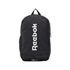 Reebok Active Core Backpack Medium Sırt Çantası Siyah Beyaz
