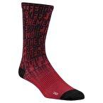 Reebok Actıve Enhanced Printed Crew - Çorap Kırmızı