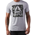 Reebok Camo Delta Speedwick T-Shirt Gri