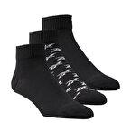 Reebok Classics Ankle 3'lü Çorap Siyah