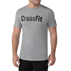 Reebok Crossfit Speedwick Graphic T-Shirt - Gri