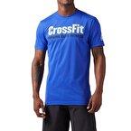 Reebok Crossfit Speedwick Graphic T-Shirt Mavi