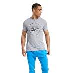 Reebok Graphic Series Speedwick T-Shirt Gri