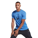 Reebok Graphic Series Speedwick Tee T-Shirt Mavi