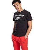 Reebok Graphic Series Stacked Tee T-Shirt Siyah